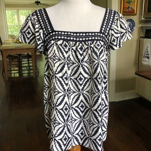 Milly of New York flutter sleeve blouse